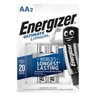 Bateria ENERGIZER Ultimate Lithium, AA, L91, 1,5V, 2szt.