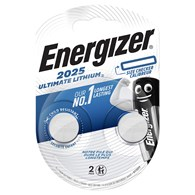 Bateria specjalistyczna ENERGIZER Ultimate Lithium Coins, CR2025, 3V, 2szt.